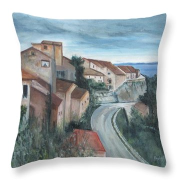 Montepulciano Throw Pillow