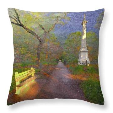 Monterey Square  Throw Pillow
