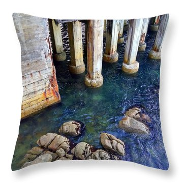 Montery Bay Throw Pillow