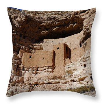Montezuma Castle Throw Pillow