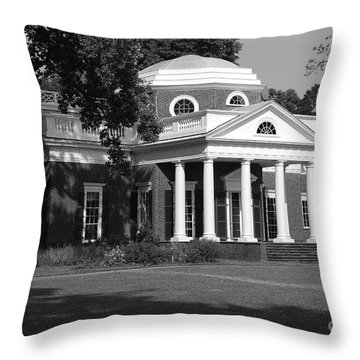 Monticello IIi Throw Pillow by Eric Liller