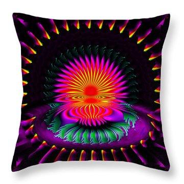 Montra Throw Pillow by Robert Orinski