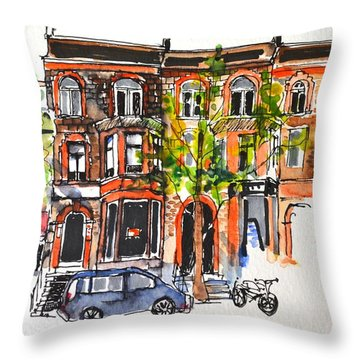 Montreal 1 Throw Pillow