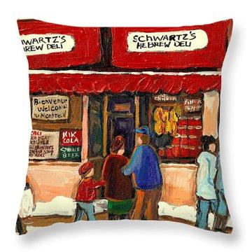 Art That Makes You Smile Throw Pillows