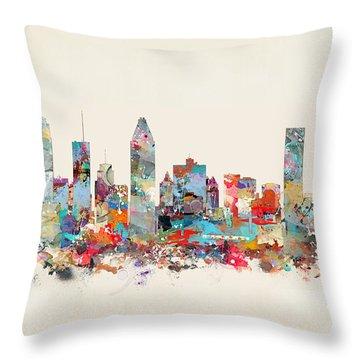 Quebec City Throw Pillows Fine Art America