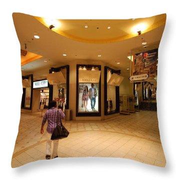 Montreal Underground Throw Pillow by John Schneider