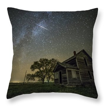 Throw Pillow featuring the photograph Montrose Orionid by Aaron J Groen