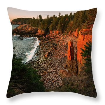 Monument Cove Throw Pillow