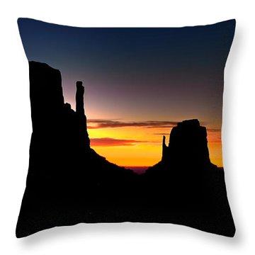 Monumental Morning Throw Pillow