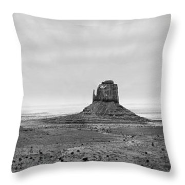 Monument Valley Throw Pillow by Mike McGlothlen