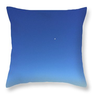 Monument Valley Morning View Throw Pillow