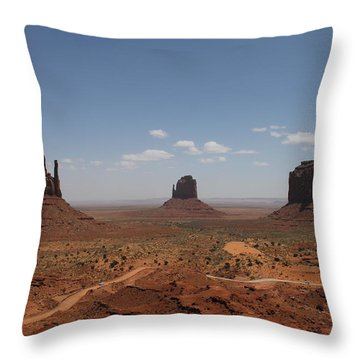 Monument Valley Navajo Park Throw Pillow
