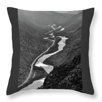 Throw Pillow featuring the photograph Monument View by Britt Runyon