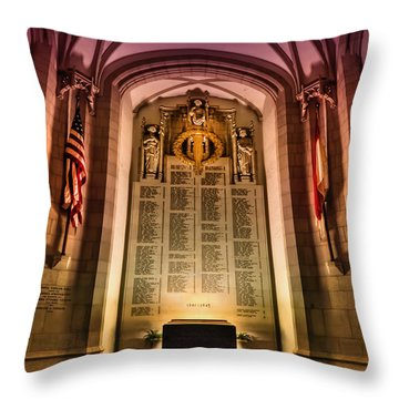 Monumental Throw Pillow by Evelina Kremsdorf