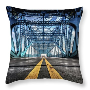 Monumental Market Street Throw Pillow