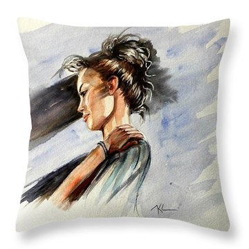 Mood 3 Throw Pillow