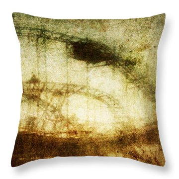 Mood Swings Throw Pillow by Andrew Paranavitana