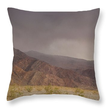 Moods Of Death Valley National Park Throw Pillow