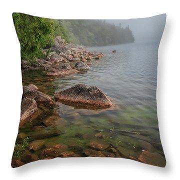 Moody And Magical Jordan Pond Throw Pillow