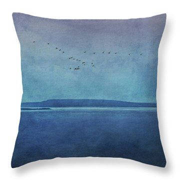 Moody  Blues - A Landscape Throw Pillow