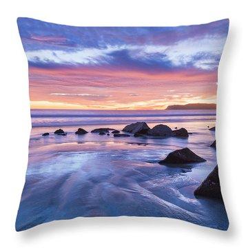 Moon Above Throw Pillow