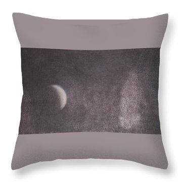 Moon And Friends Throw Pillow