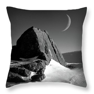 Moon And Monolith,pavey Ark Throw Pillow