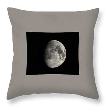 Moon, Aug 13th 2016 Throw Pillow