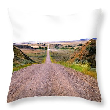 Moon Creek Heavy Traffic Throw Pillow by Aliceann Carlton