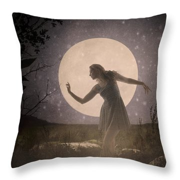 Moon Dance 001 Throw Pillow