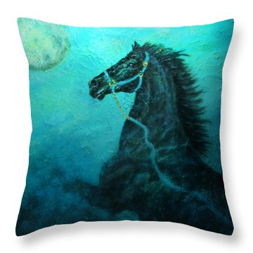 Moon Dance Throw Pillow by The Art With A Heart By Charlotte Phillips