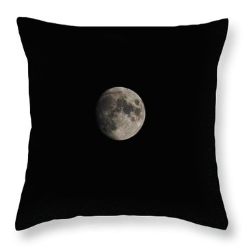Moon Glow Throw Pillow by Eric Liller
