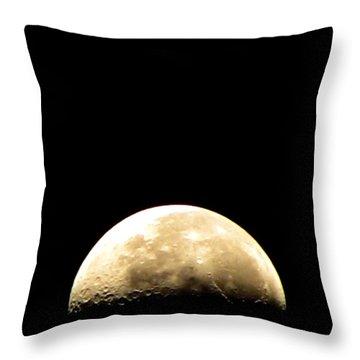 Moon Loop Throw Pillow