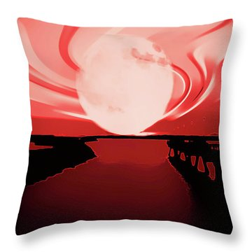 Moon Magic Throw Pillow