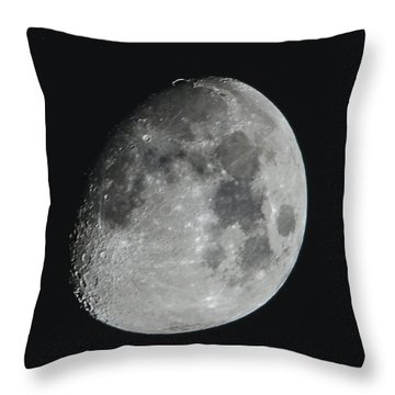 Moon On Day 12 Throw Pillow
