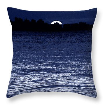 Moon Shine Throw Pillow