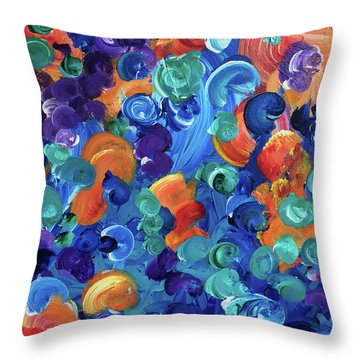 Moon Snails Back To School Throw Pillow