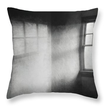 Moonbeams On The Attic Window Throw Pillow