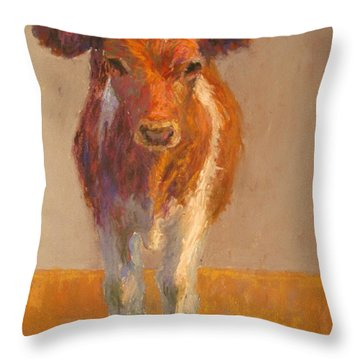 Mooney Throw Pillow by Susan Williamson
