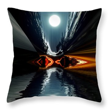 Moonlake Throw Pillow