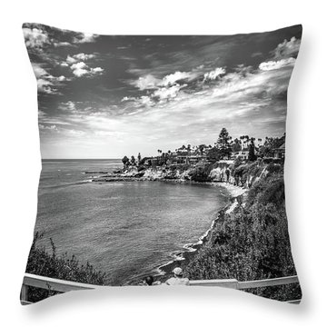 Moonlight Cove Overlook Throw Pillow