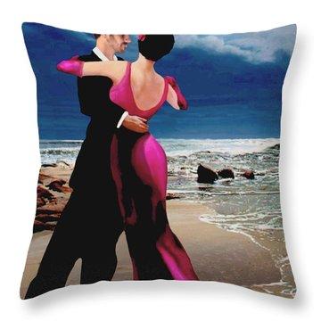 Moonlight Dance Throw Pillow
