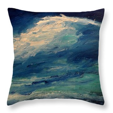 Moonlight Throw Pillow by Fred Wilson