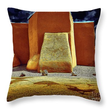 Moonlight In Ranchos Throw Pillow