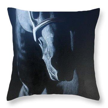 Moonlight Throw Pillow by Jean Yves Crispo