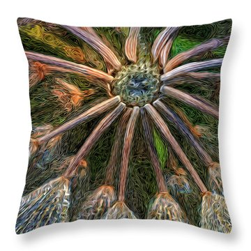 Moonlight Minuet Throw Pillow