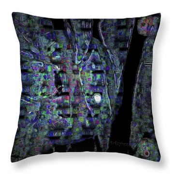Moonlight Shadow Throw Pillow by Mimulux patricia no No