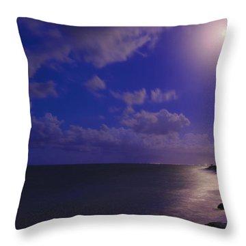 Moonlight Sonata Throw Pillow by Chad Dutson