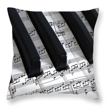 Moonlight Sonata Throw Pillow by Iryna Goodall