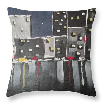 Moonlighters Throw Pillow